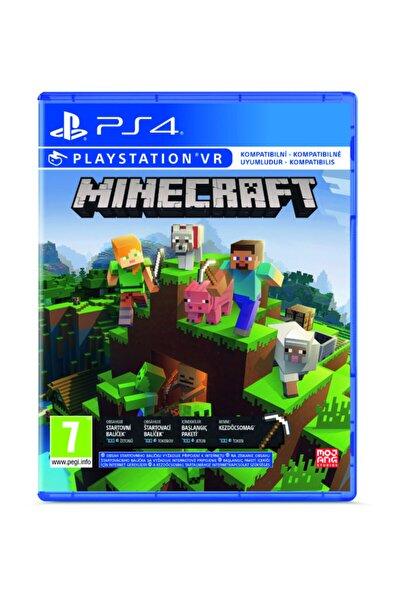 Minecraft: Starter Collection PS4 Oyun (VR Uyumlu)