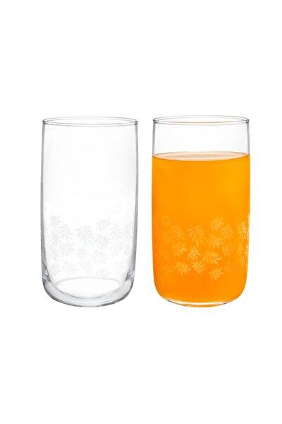 Musette White Leaves 4'lü Meşrubat Bardağı Seti