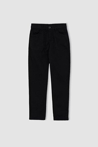 Erkek Siyah Erkek Çocuk Relax Fit Pantolon U3254A621AU