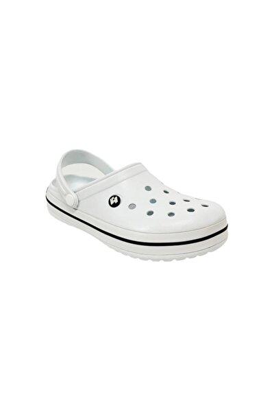 Erkek Beyaz Sandalet Terlik