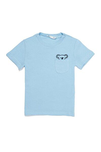 Erkek Çocuk Koala Mavi Tshirt