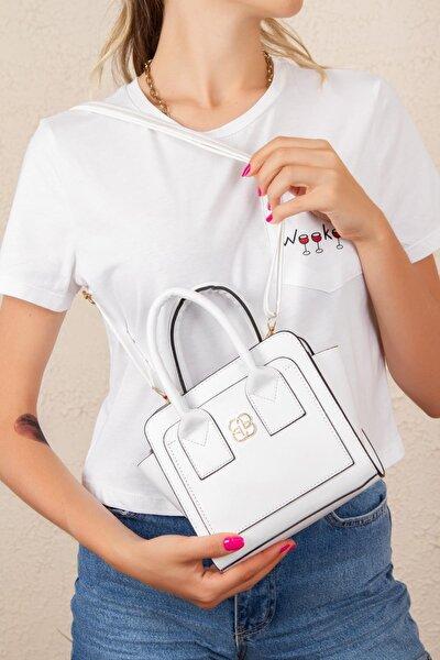 Omuz Askılı Mini El Çantası Günlük Kadın Çanta