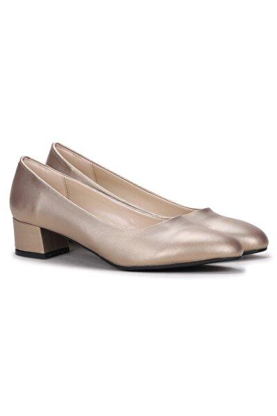 401 Parlak Büyük Numara 3 cm Ayakkabı