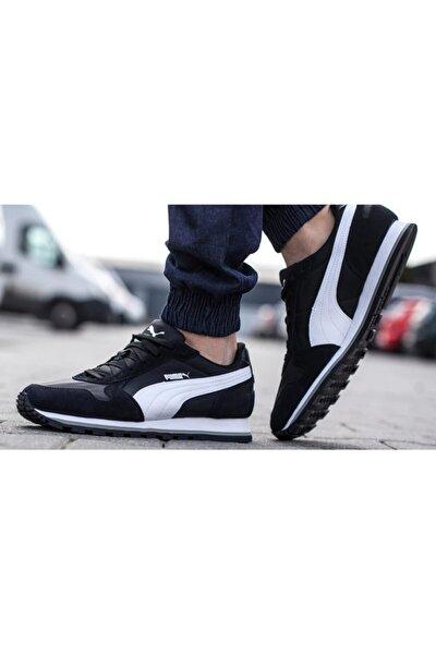 Unisex Siyah St Runner Nl Siyah-beyaz Sneaker Ayakkabı 100231415