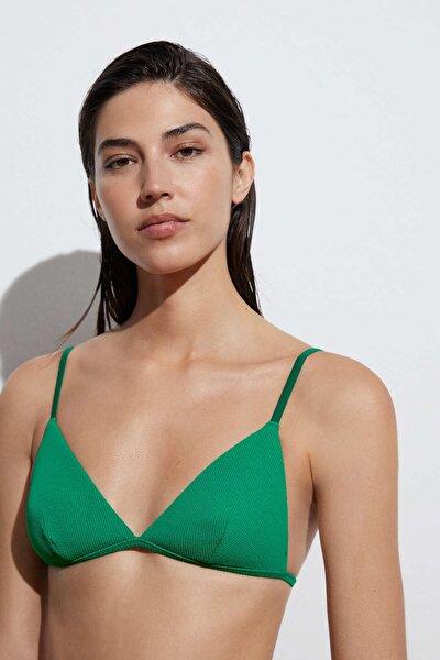 Geri Dönüştürülmüş Rib Üçgen Bikini