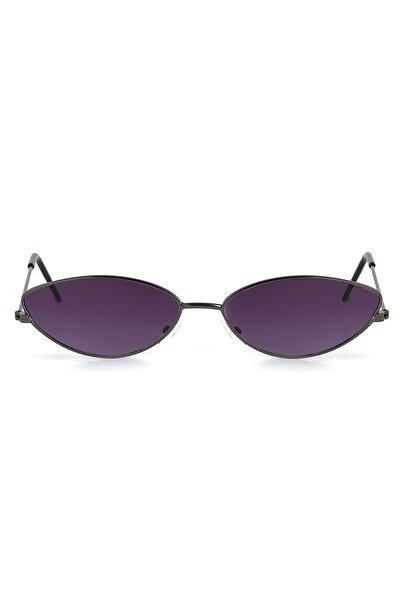 Siyah Cat Eye Kadın Güneş Gözlüğü Apss065601