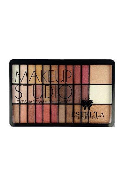 Make Up Studıo 30 Lu Far+3lü Highligter Palet B Paketi