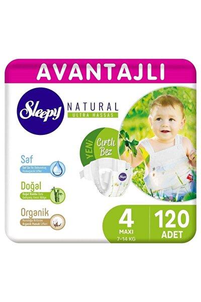 Natural Avantajlı Bebek Bezi 4 Numara Maxi 120 Adet