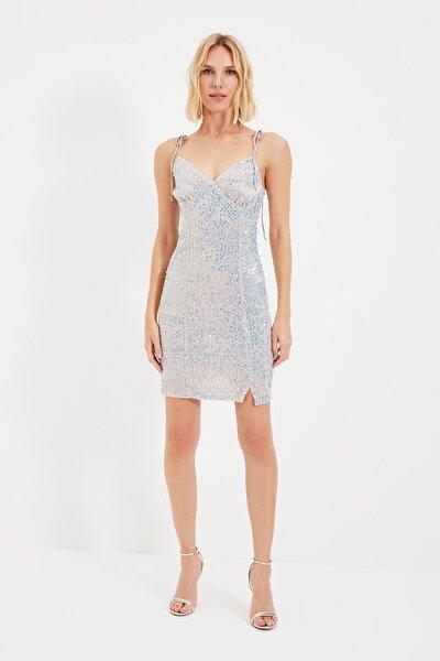 Mavi Payet Elbise TPRSS21EL1461