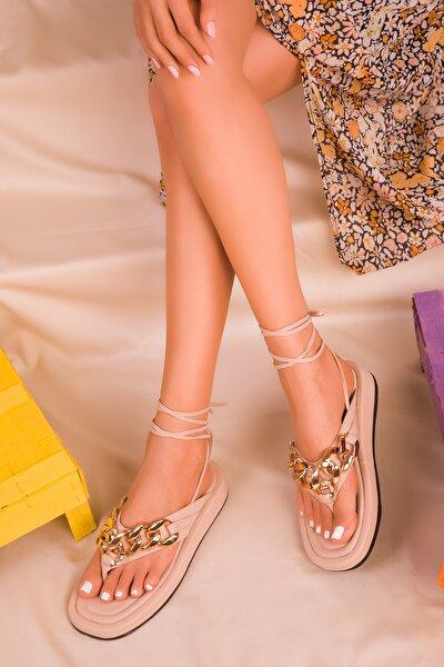 Ten Kadın Sandalet 16366