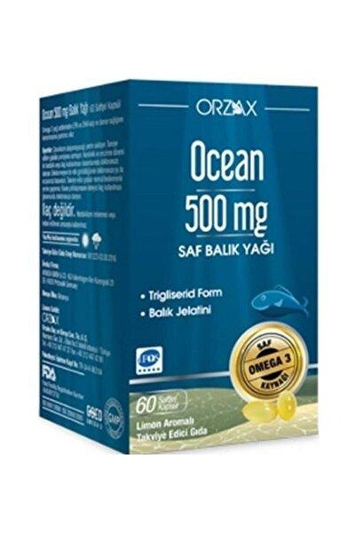 Balık Yağı 500mg Takviye Edici Gıda 60 Kapsül
