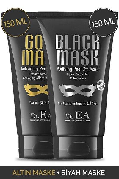 Dr. Ea Soyulabilir Siyah Maske Ve Soyulabilir Altın Maske 2'li Özel Set