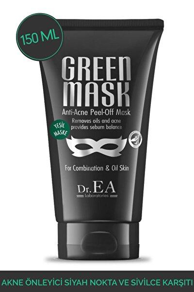 Akne Önleyici Siyah Nokta Ve Sivilce Karsiti Soyulabilir Yesil Maske 150 ml