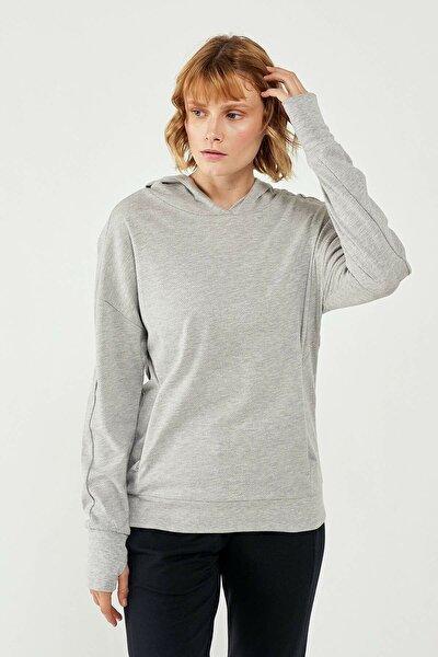 HMLGANG Gri Kadın Sweatshirt 101085909