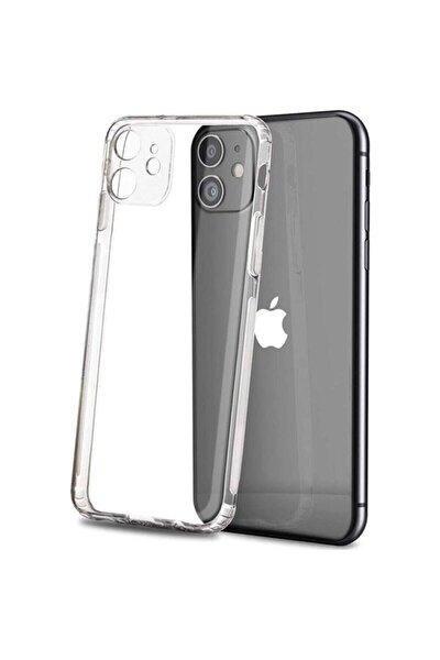 Iphone 11 Şeffaf Kılıf Kamera Korumalı Şarj Tıpalı