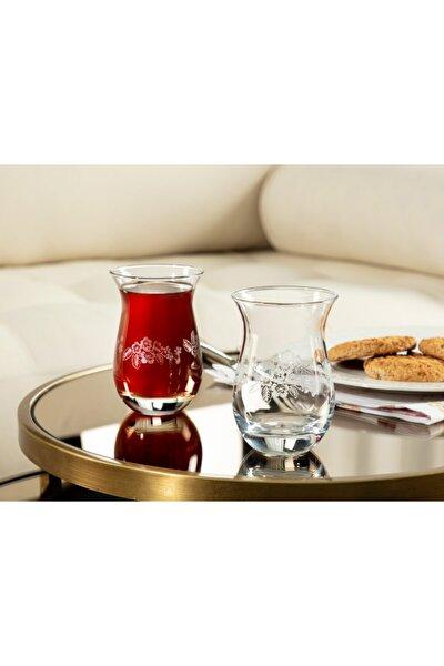 Clarette-nostalgic Flowers 6'lı Çay Bardağı - 168 ml