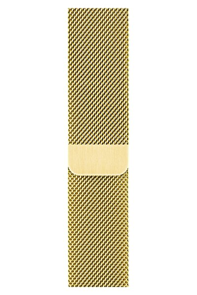 Watch 2 3 4 5 6 Se Nike 42mm 44mm Uyumlu Kordon Kayış Bileklik Milano Loop Metal Örgü