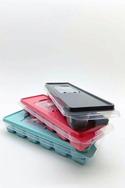Kapaklı Silikon Tabanlı Lux Buzluk 3 Adet