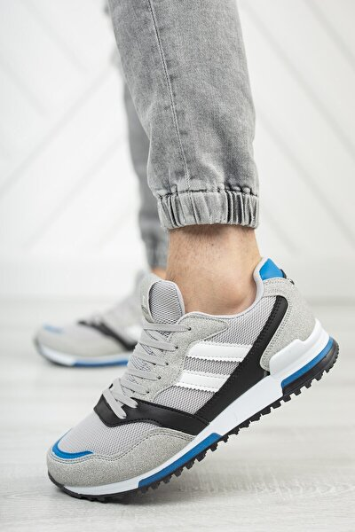 Unisex Gri Saks Sneaker 0012863