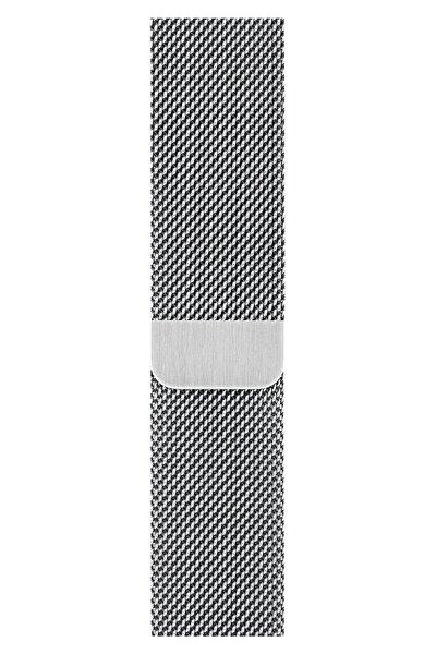 Watch 2 3 4 5 6 Se 38mm 40mm Uyumlu Kordon Kayış Bileklik Milano Loop Metal Örgü