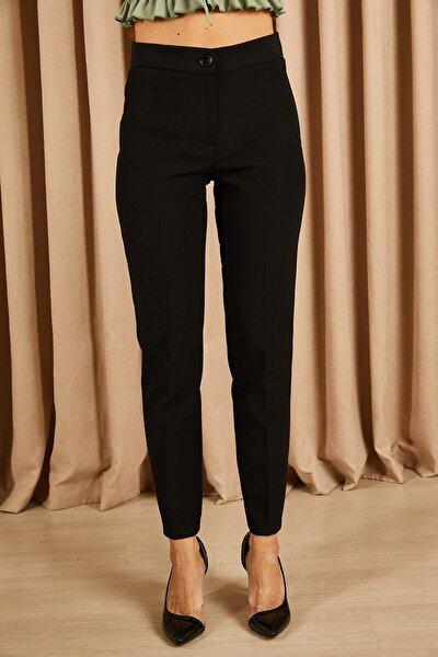 Klasik Kumaş Pantolon Siyah