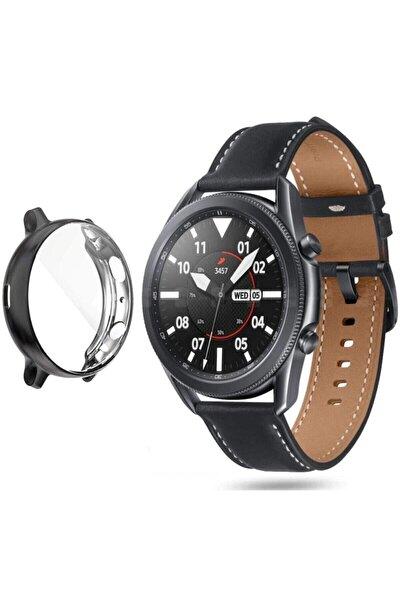 Samsung Galaxy Watch 3 - 45mm Önü Açık Silikon Kılıf