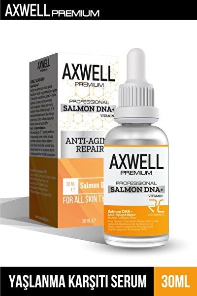 Axwell Premium Yaşlanma Karşıtı Yenileyici Yüz Ve Göz Çevresi Bakımı Somon Dna+ 30ml