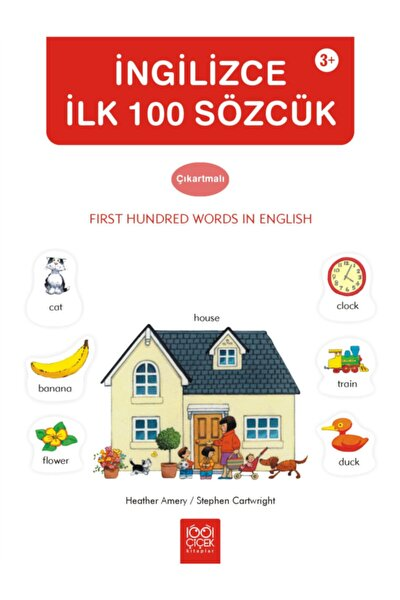 Ingilizce Ilk 100 Sözcük Çıkartmalı