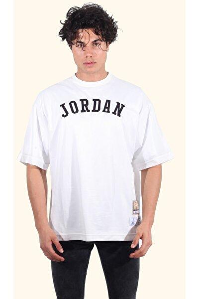 Baskılı Oversize Unisex Fileli T-shirt