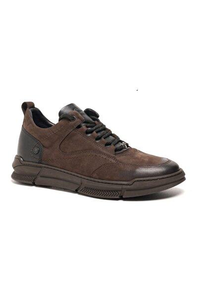 77535 Hakiki Nubuk Deri Erkek Günlük Ayakkabı