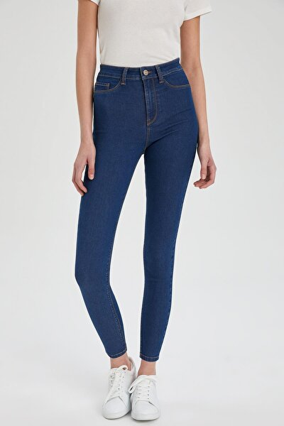 Kadın Mavi Anna Super Skinny Fit Jean Pantolon S7241AZ21SPNM