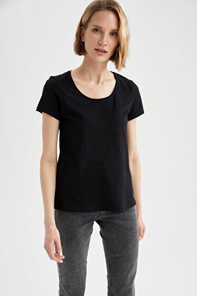 Relax Fit Yuvarlak Yaka Basic Tişört
