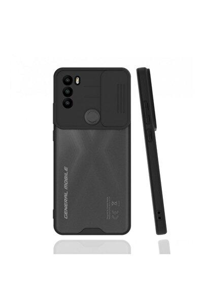 General Mobile Gm 21 Plus Uyumlu Platin Lensli Kamera Korumalı Silikon Kılıf