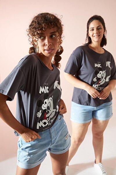 Coool Mickey Mouse Lisanslı Relax Fit Kısa Kollu Tişört