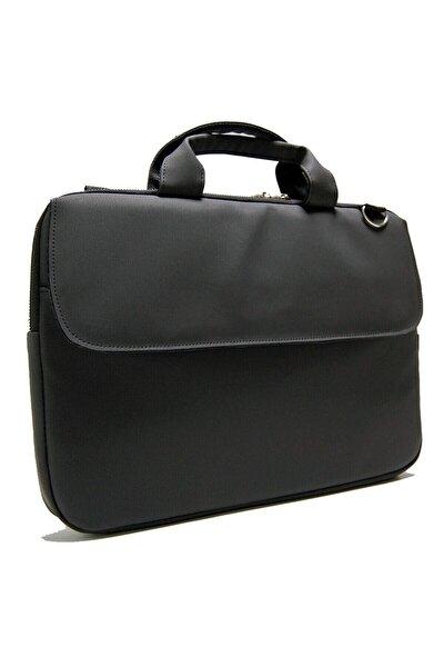 Siyah Macbook Air Pro 13 13.3-14 Inç Darbeye Karşı Korumalı Laptop Çantası