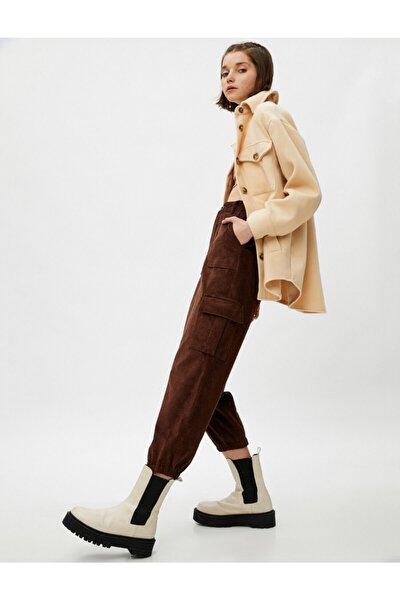 Kadın Kahverengi Jeans 1KAL48007IW