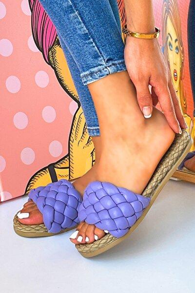 Kadın Lila Sandalet