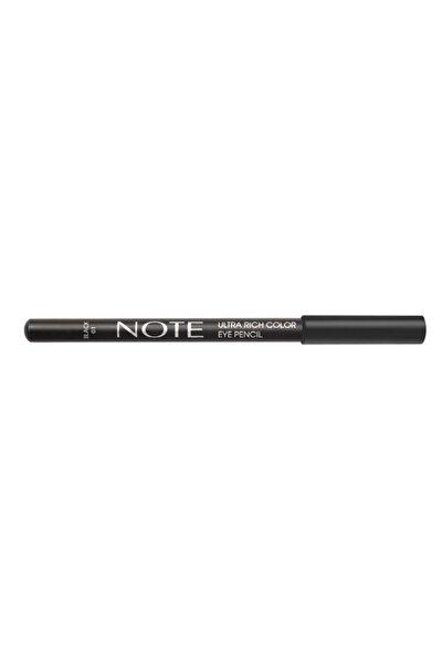Ultra Rich Color Eye Pencil 01 Black