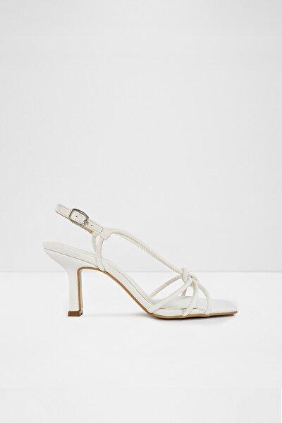 Rımını-tr - Beyaz Kadın Yüksek Topuklu Sandalet