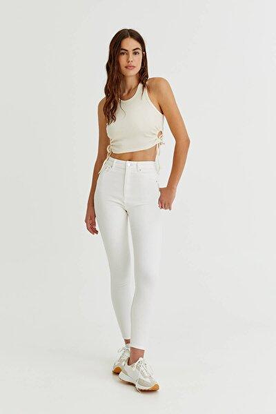Yüksek Bel Skinny Jean - En Az %50 Organik Pamuklu