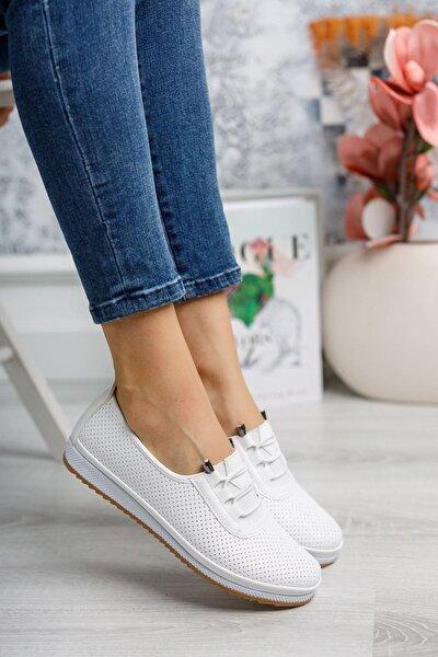 Kadın Beyaz Ortopedik Günlük Ayakkabı