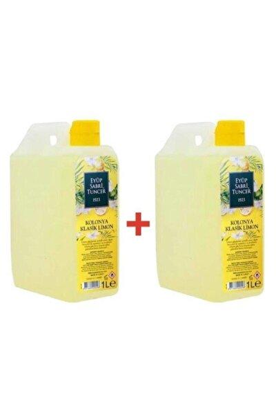 Kolonya Pvc 1lt Limon 2'li Set
