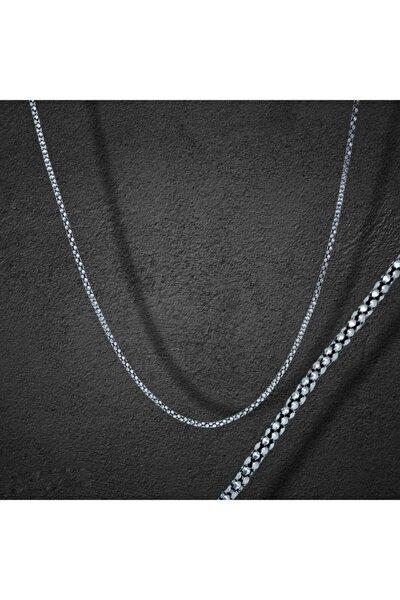 925 Ayar Gümüş Erkek Zincir