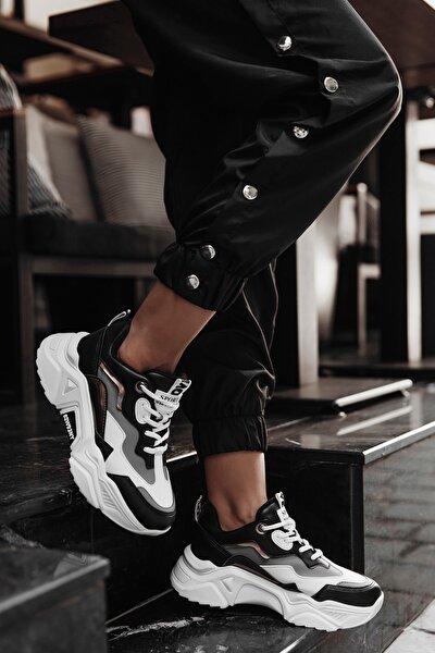 Siyah Füme Kadın Sneaker