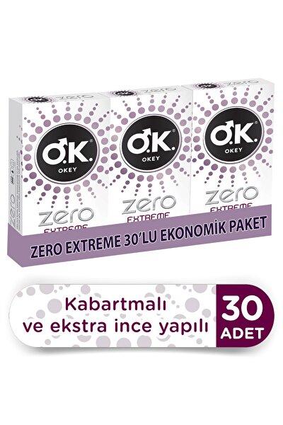 Zero Extreme Prezervatif 30'lu