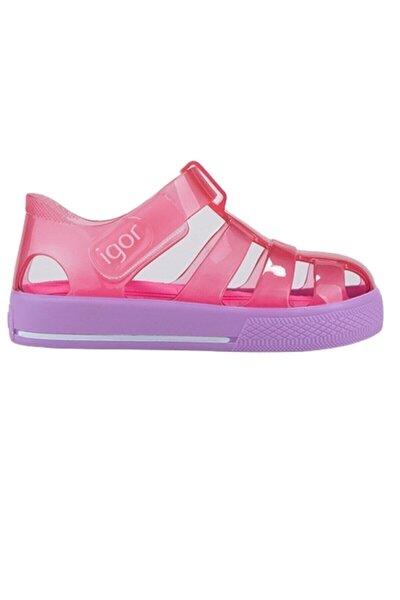 S10270 Star Bicolor Çocuk Sandalet