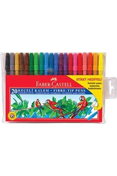 Yıkanabilir Keçeli Kalem 20 Renkli