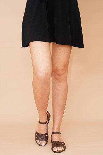 Kadın Sandalet Kahverengi