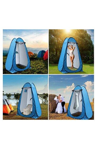 Kamp Alanı Duş Giyinme Wc Çadırı Fotoğrafcı Prova Kabini