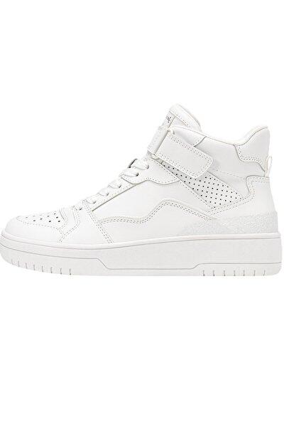 Beyaz Bilekli Spor Ayakkabı